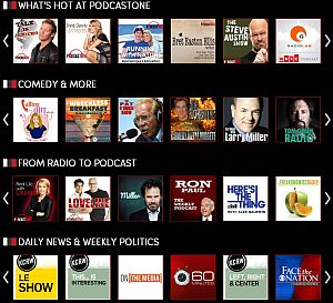 podcastone directory
