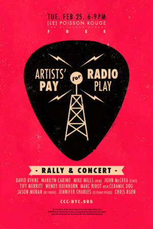 artists pay rally 300w
