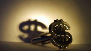 dollar sign cufflink