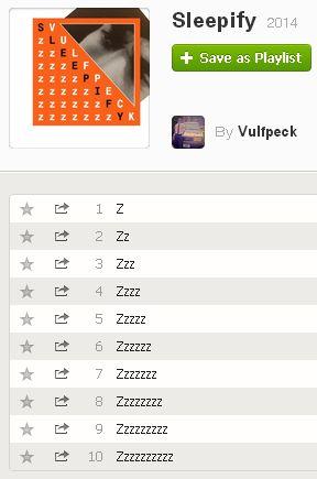 sleepify spotify screenshot