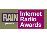 RAIN Internet Radio Awards logo canvas
