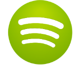 spotify logo square canvas