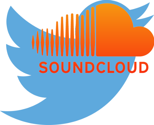 twitter and soundcloud 500w