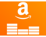 amazon music logo canvas