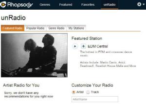 rhapsody unradio homepage 300w