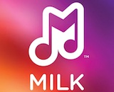 Music milk logo canvas