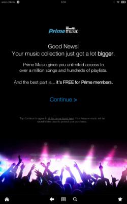 Prime Music expansion 250w