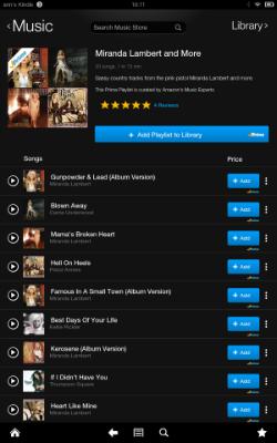 Prime Music playlist 250w