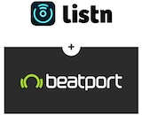 Listn + Beatport canvas