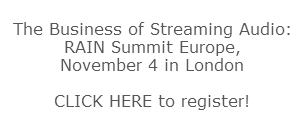 RAIN Summit Europe text box