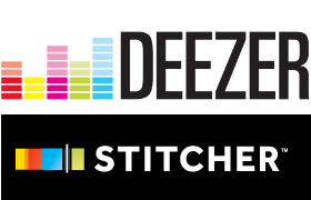 deezer and stitcher