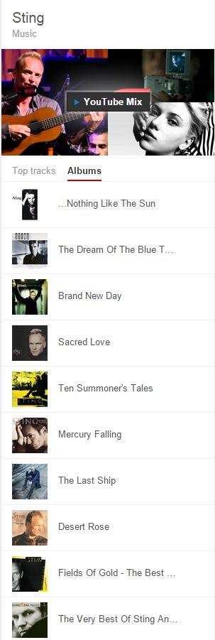 music key - free sting album list
