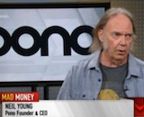 Neil Young interview canvas