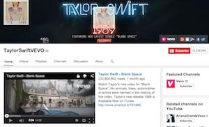 Taylor Swift YouTube