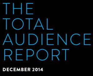 nielsen total audience report