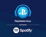 Spotify PlayStation Music canvas