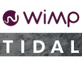 WiMP and Tidal logos canvas
