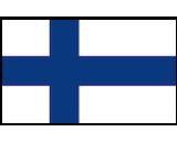 Finland flag canvas
