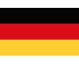 German flag canvas