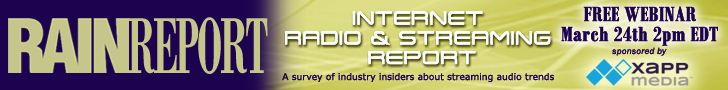 Internet Radio and Streaming Report 728x90 webinar