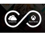 Xbox Music OneDrive canvas