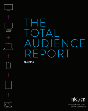 nielsen total audience report q4 2014 title page
