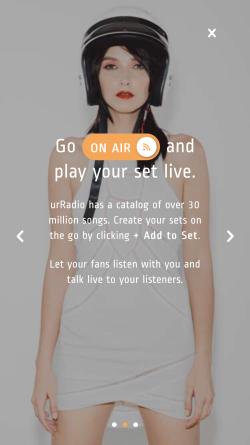 urRadio screen 01 250w