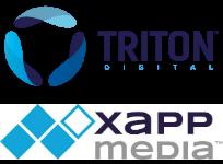 triton digital and xappmedia 204w