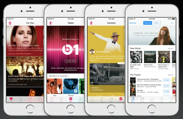 Apple Music all screenshots