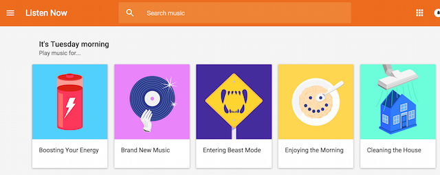 Google Play Music free playlists