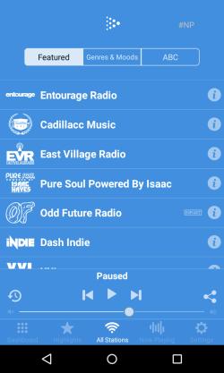dash radio android app 250w