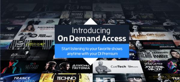 di-fm on-demand splash