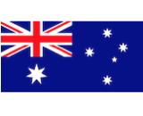 Australia flag canvas