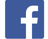 Facebook logo canvas