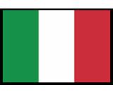 Italy flag canvas