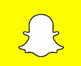 Snapchat logo canvas