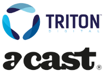 triton digital and acast 204w