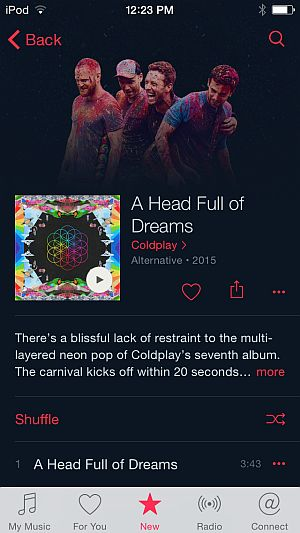 New Coldplay album out today with erratic streaming presence – RAIN News