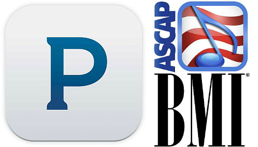 pandora land ascap and bmi 525w