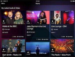 BBC Music app