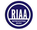 RIAA logo canvas