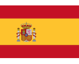 Spain flag canvas