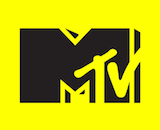 MTV logo canvas