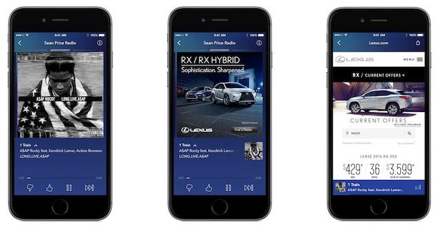 Pandora Responsive Mobile Ad Display
