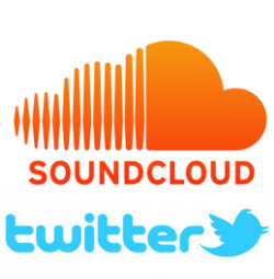 soundcloud and twitter USE THIS 250w
