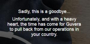guvera goodbye