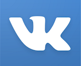 vkontakte logo canvas