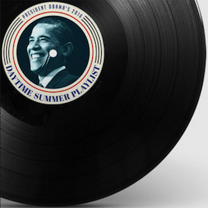 Obama summer playlist 2016