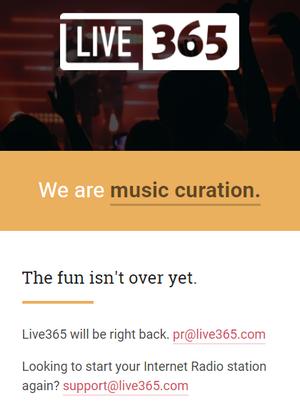 live365 return splash 300w