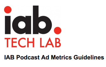 iab podcast ad metrics guidelines title